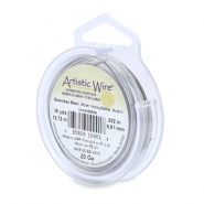 20 Gauge Artistic Wire Stainless steel