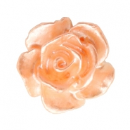 Rosen Perlen 10mm Weiss-fresh peach pearl shine